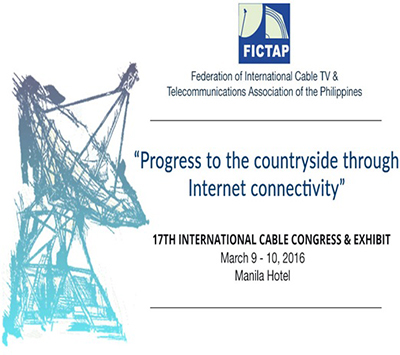 17TH INTERNATIONAL CABLE CONGRESS & EXHIBIT